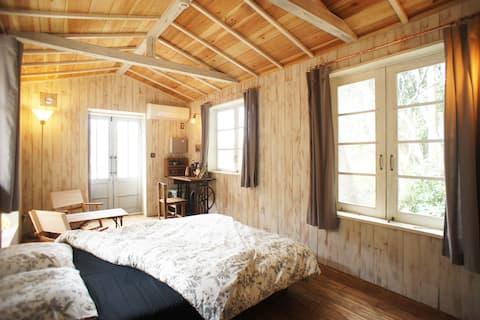 茨城・大子【咲くカフェ】の新ゲストルーム「Room 796」。非日常をどうぞ♪