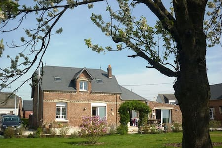 Great house in Picardie, France - Monchy-Lagache