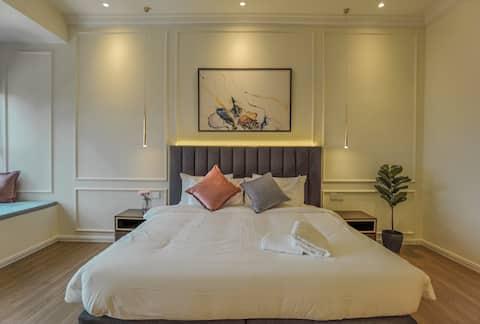 【HOT】Premier Suites with 58' SMART TV@KL City View
