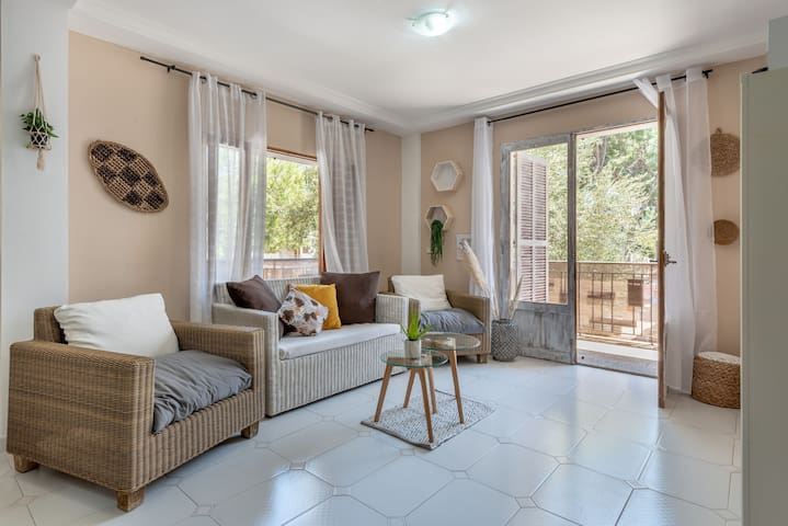 Fantastic Apartment with Balcony & Wi-Fi; Pets Allowed