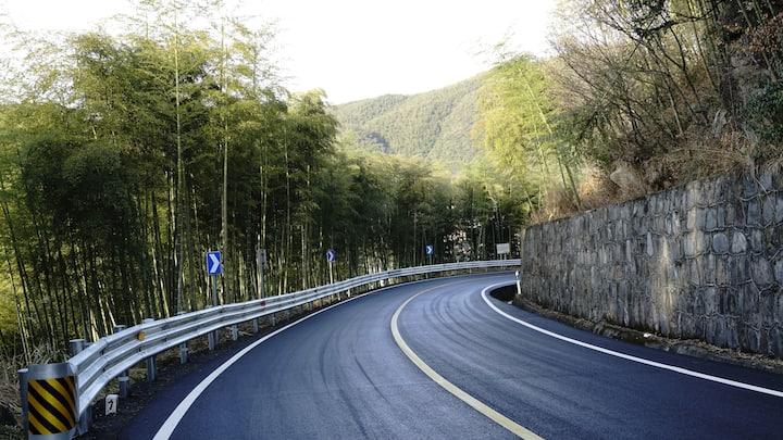 『青静谷*自在』安吉天池自驾游竹海漂流古道徒步度假山景大床房