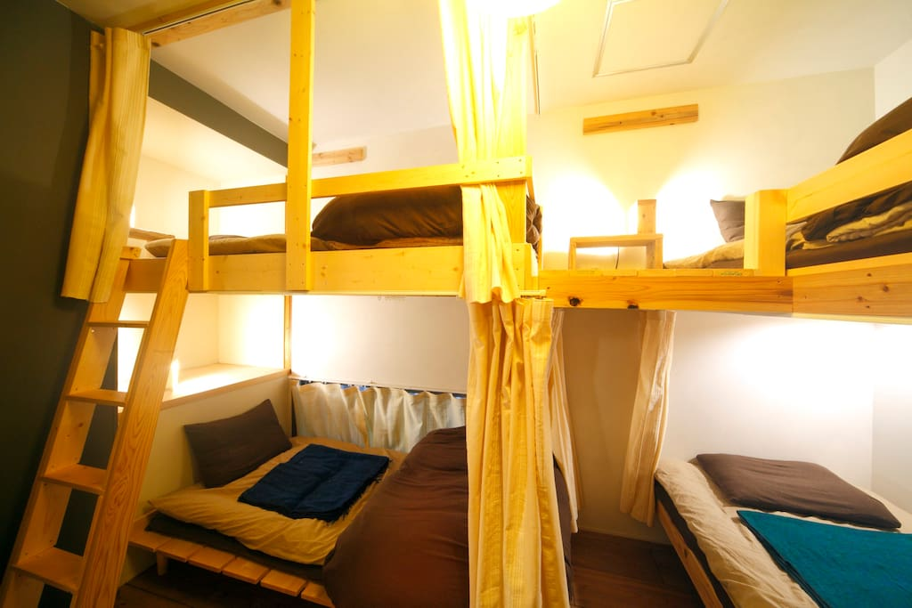 Mix 4 beds dorm