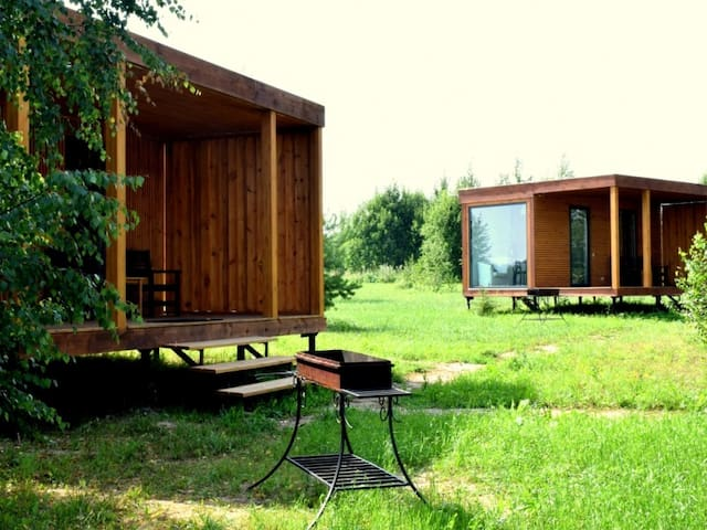 """Camping house for two. the leisure Park """"Malskaya valley"""""""