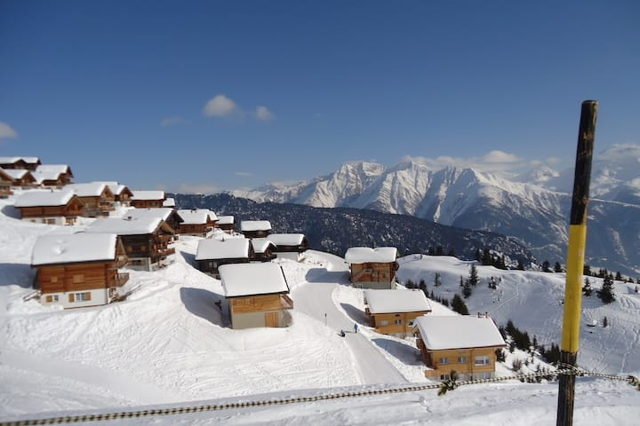 Chalet Mario Belalp. Great views. Ski-IN,Ski-OUT
