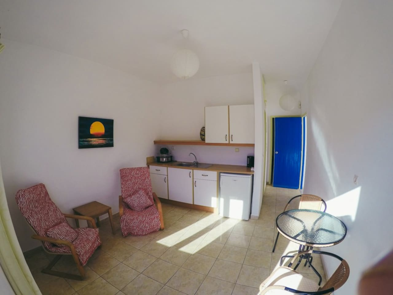 Relaxed 1 bedroom private apt Ground floor