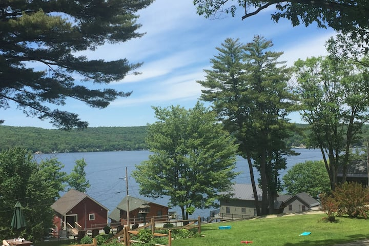 Family or couples retreat on Lake Bomoseen