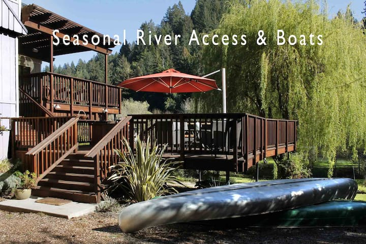 RIVER SONG: Boats are ready!  Hot Tub | Woodstove