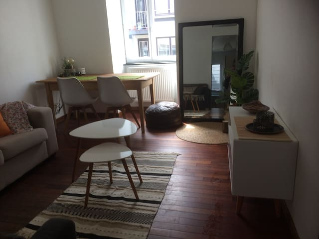 Gezellig appartementje in hart van Gent