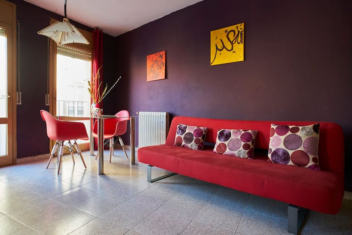 Centrally located Manresa charm - Manresa - Appartement