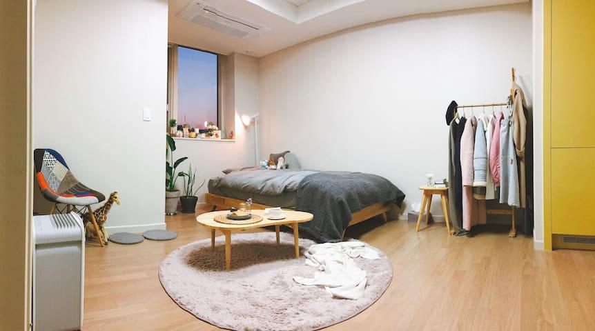 Cozy Studio near Subway & Han-river - 서울특별시 - Pis