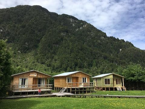 Cabaña sector campestre a 6km de Puerto Aysén