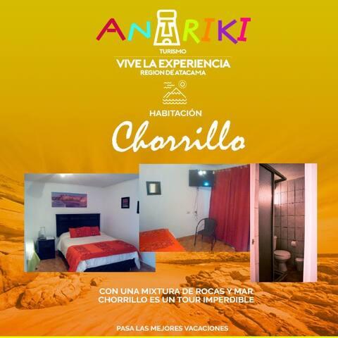 Habitación N° 3 -Playa Chorrillos