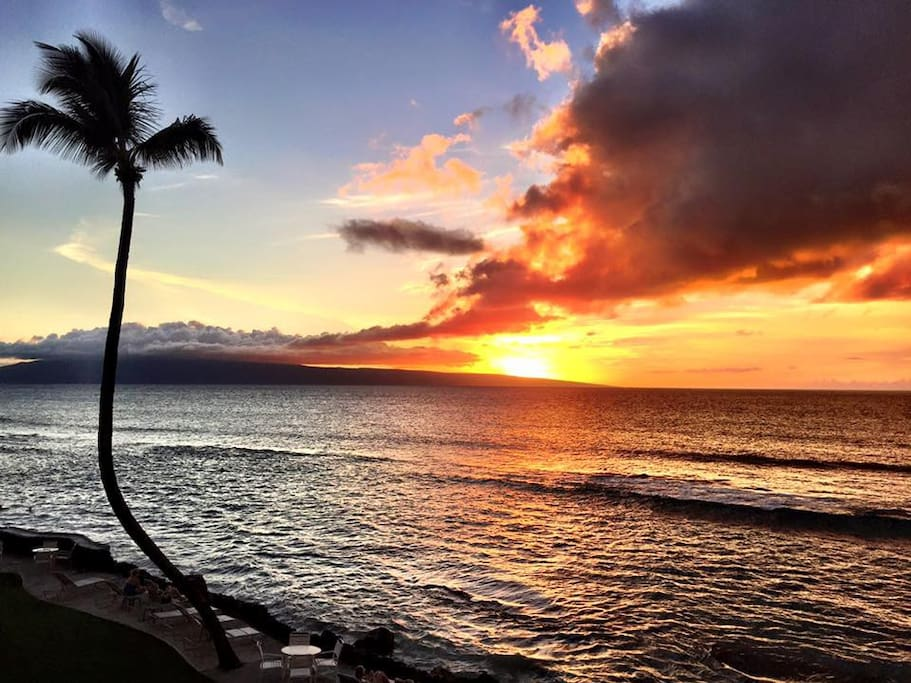 Free nightly sunsets!