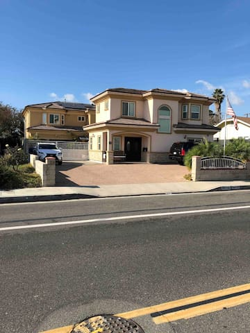 14791 Newland St., Midway City, CA 92655 (New Custom house just built 3 years) Nice city, nice and quiet neighbor, right center of town , near shopping center and malls, 20 minutes Huntington Beach, near freeway 22 & 405 and near John Way Airport...