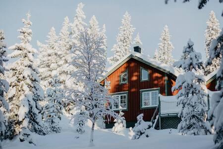 Mysig & stor fjällstuga i Vemdalen