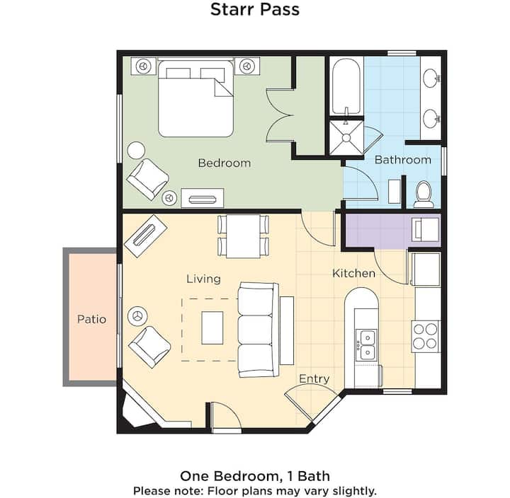 Wyndham Starr Pass Golf Suites 1 Br