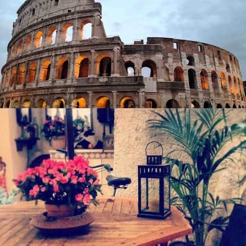 Casa minha al Colosseo: Ditt hem i Rom