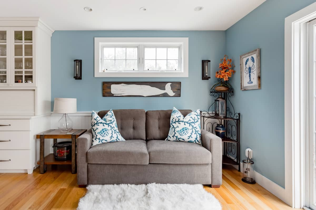 Go Beachcombing from a Coastal-Themed Character Cottage