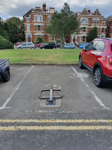 Private parking space