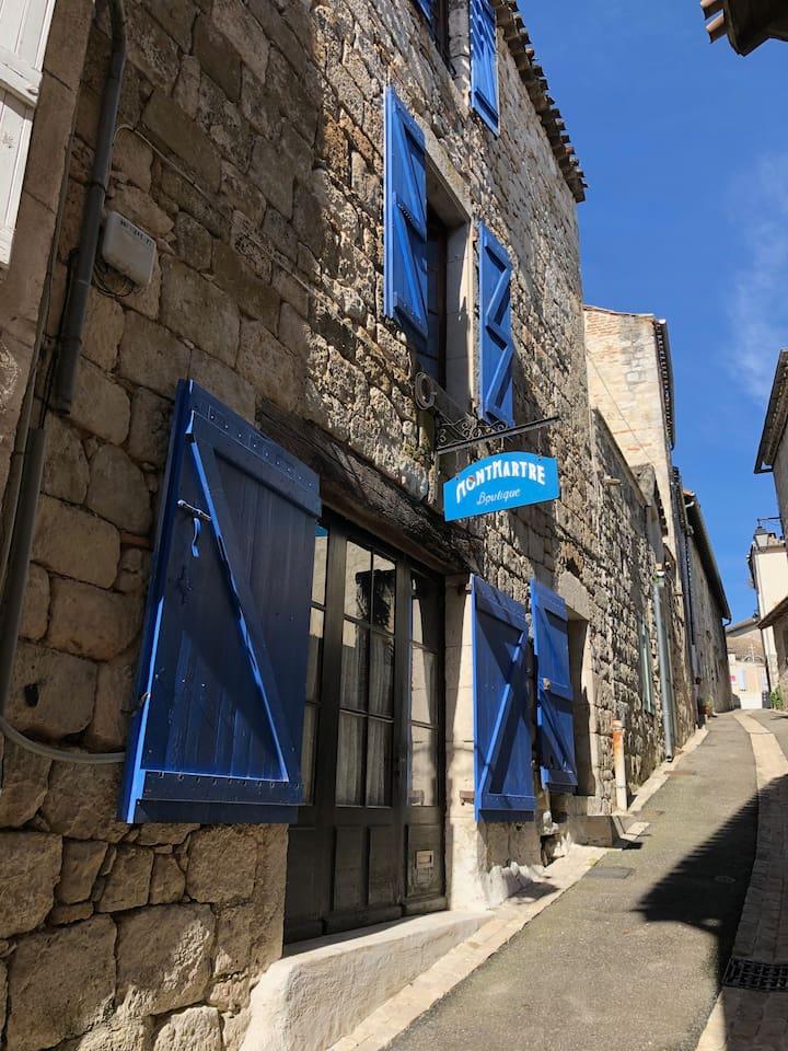 The Boutique Montmatre.