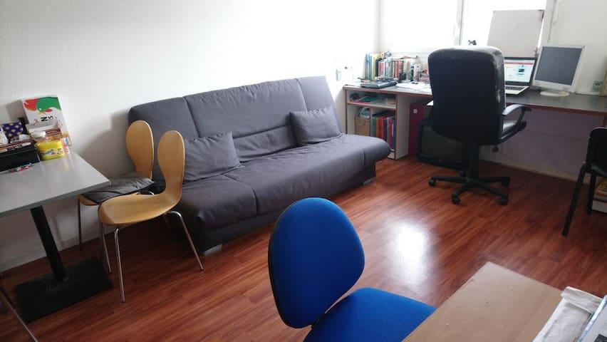 Appartement 33m2, chambre séparée