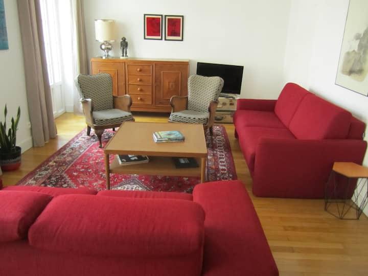 Appartement hyper centre - chambres