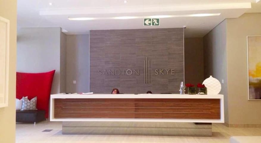 Building reception Sandton SKYE