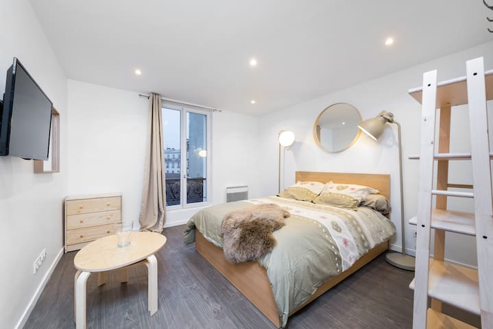 ☀ ☀one bedroom cosy for 2 people Paris-☀ ☀