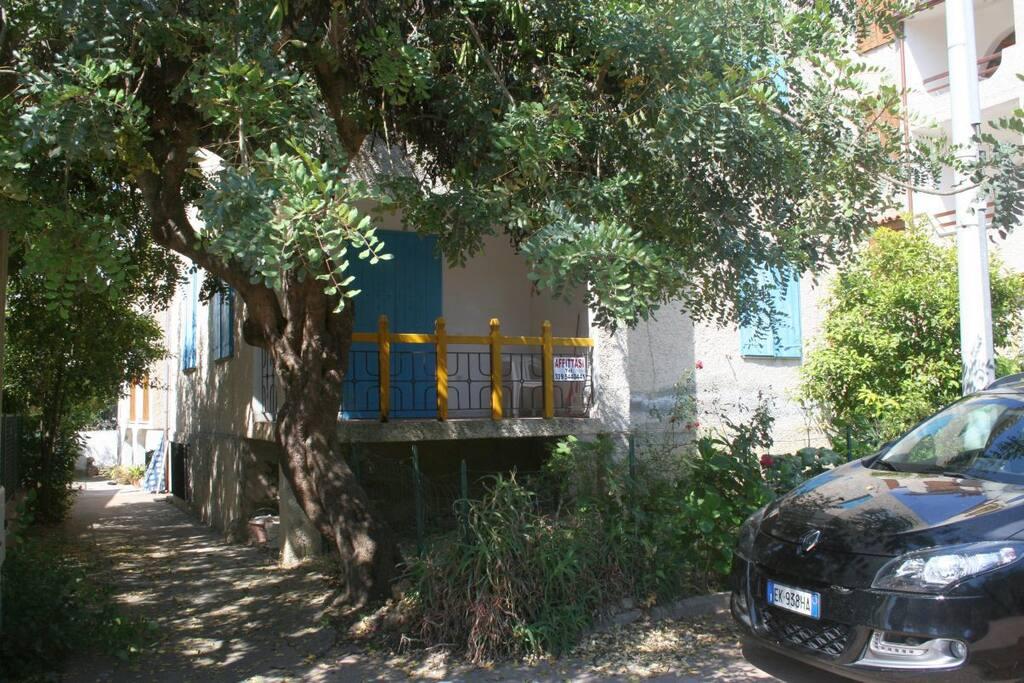 Esterno e veranda appartamento