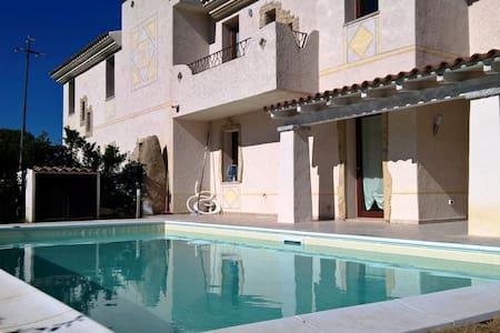 Lu Fraili ville con piscina vicino Coda Cavallo - Case Peschiera-lu Fraili - Villa