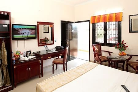 Deluxe AC Room with Breakfast -1 - Vrindavan