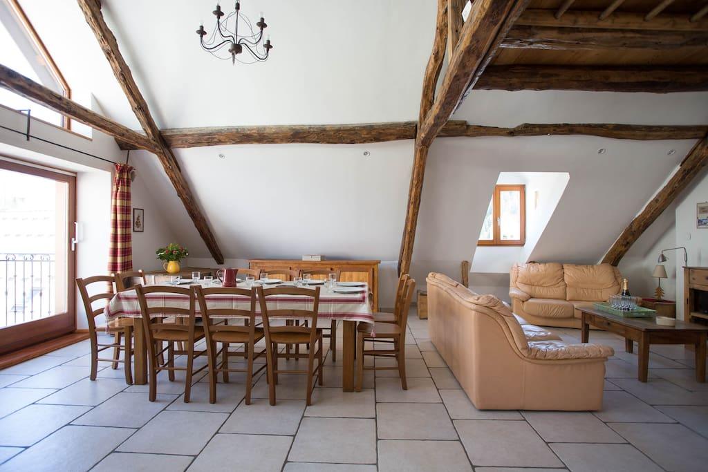 maison 10 pers 4 chambres serre chevalier 1500 maisons louer le mon tier les bains. Black Bedroom Furniture Sets. Home Design Ideas