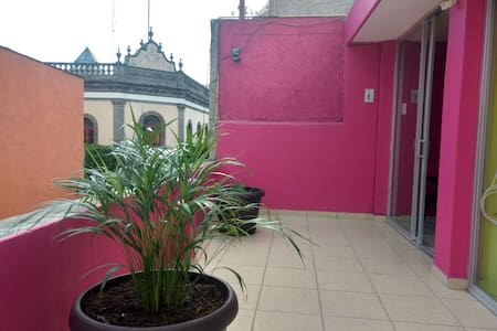The best located room in Tlaxcala city. ROOM II.