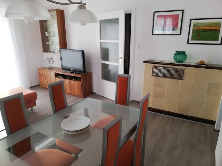 Wohnung in zentraler und verkehrsgünstiger Lage.