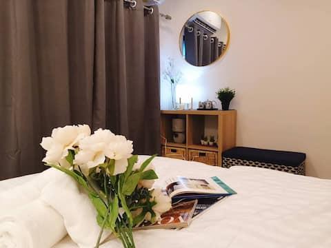 Lull Hostel@Room B in Samut Prakarn