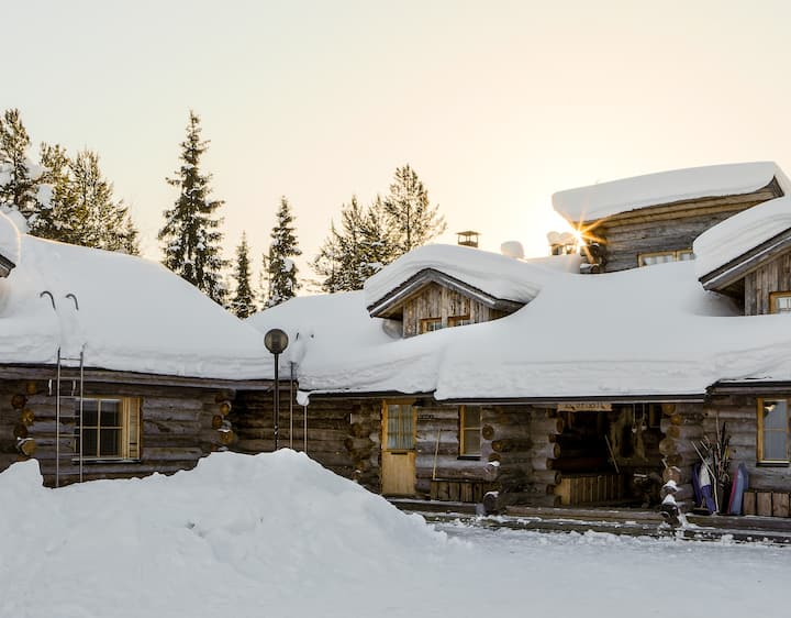Vellunlevi 3 - Cozy cabin near Levi center