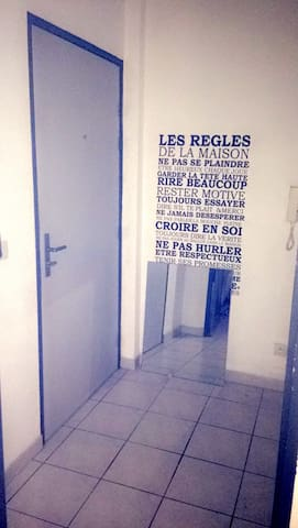 studio sympa quartier port marianne - Montpellier - Flat