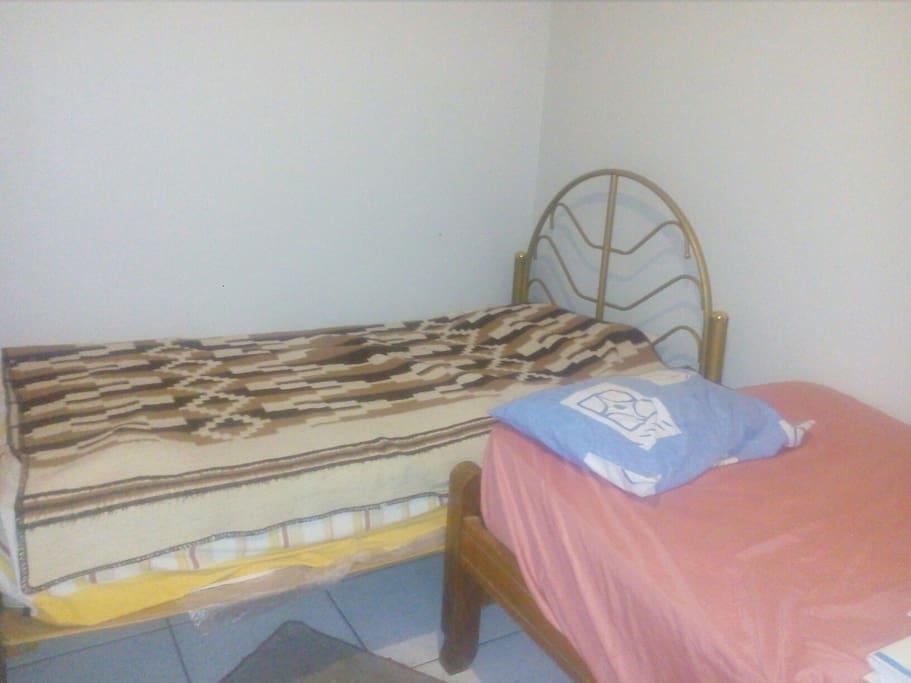 Habitación 1: 2 camas