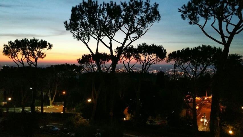 Terrazza su Roma - Flats for Rent in Frascati, Roma, Italy