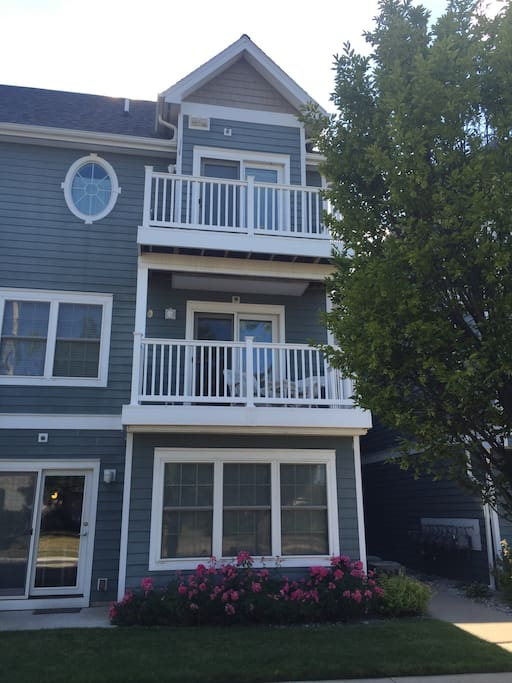 Our unit has two balconies!