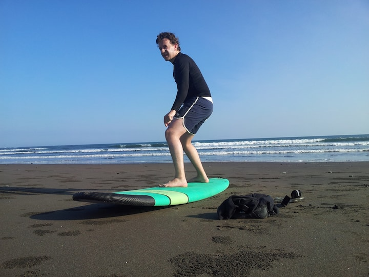 Surf theory at the beach