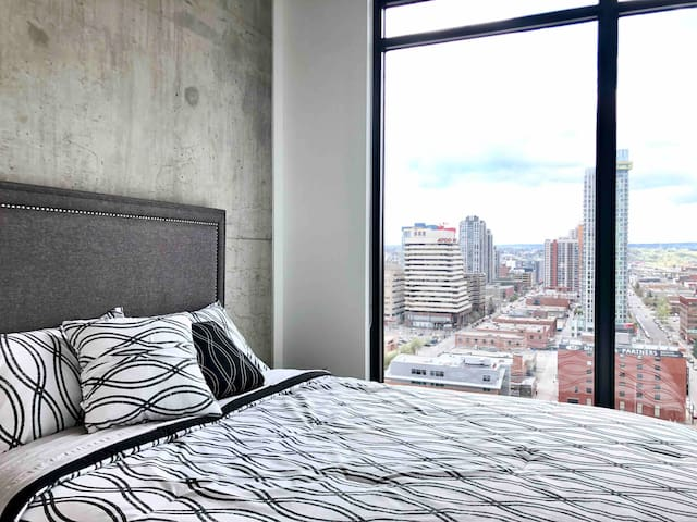 LUXURY DT Condo w/ View, Parking & Gym