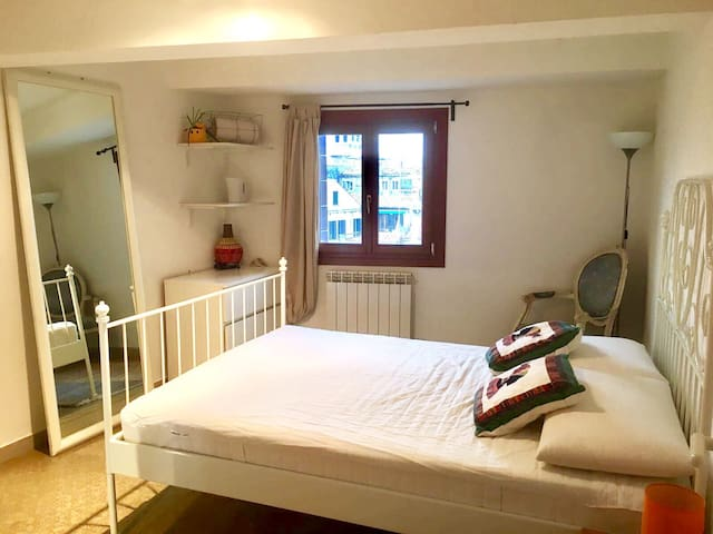 LARGE CENTRAL EQUIPPED PRIVATE ROOM - Venise - Appartement