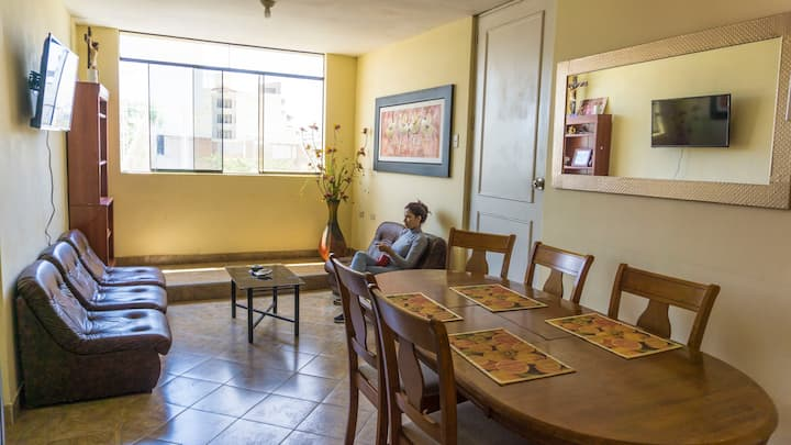 Departamento privado centro de Piura