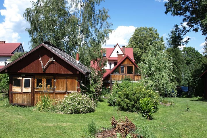 Home in the Linden Garden - Rabka-Zdrój - Casa