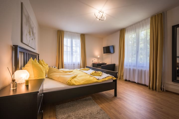 Kingsize Zimmer (Bed & Breakfast Villa Alma)