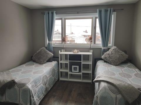 Apartamento superior privado limpio y espacioso