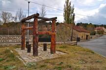 Interior del pueblo