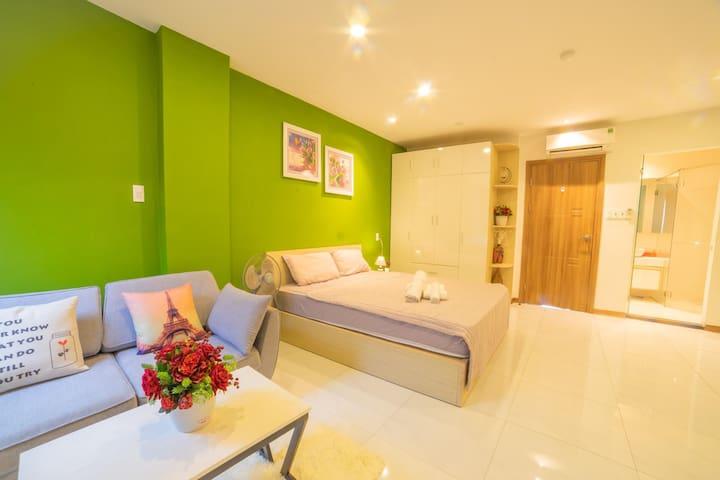 301 Khang Khoa Apartment, 3mins walk han market