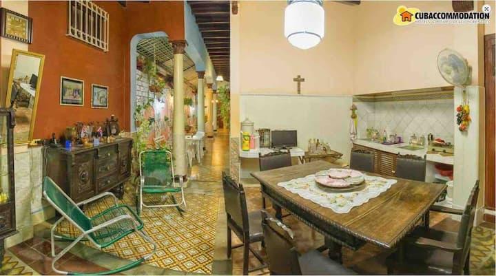 Casa Colonial Mirta y Candido.Hab 2